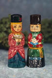 Russian couple of merchants